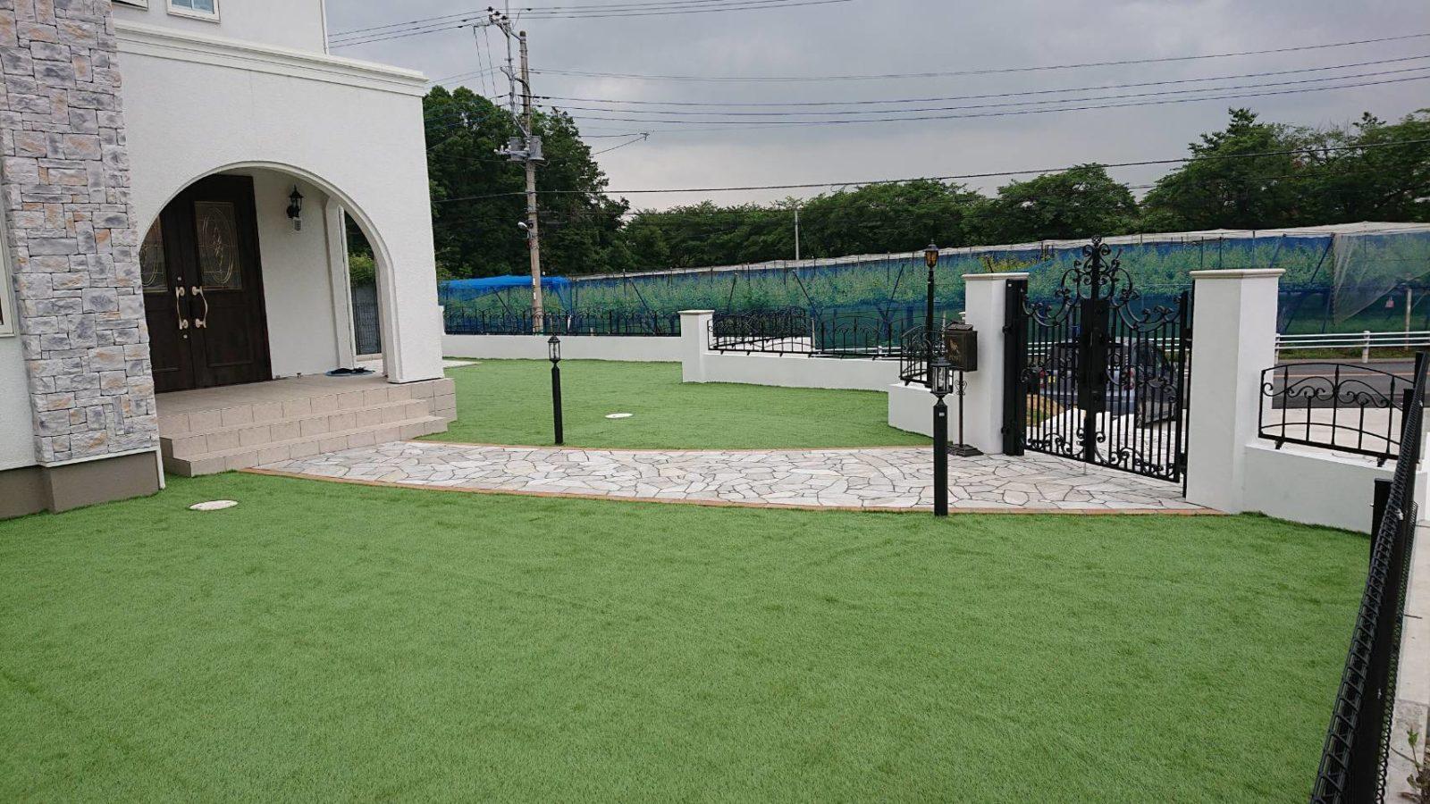 石材・人工芝・フェンス・塀